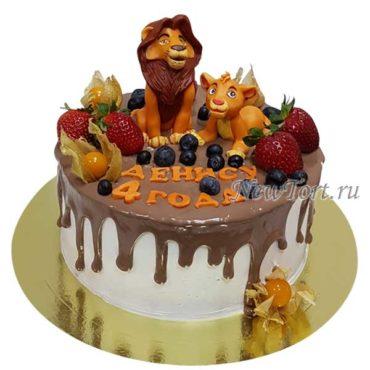 Торт Король Лев и Симба