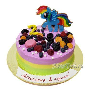 Торт литл пони и макарунсы