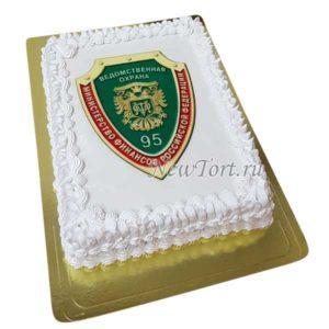 Торт на юбилей ведомственной охраны