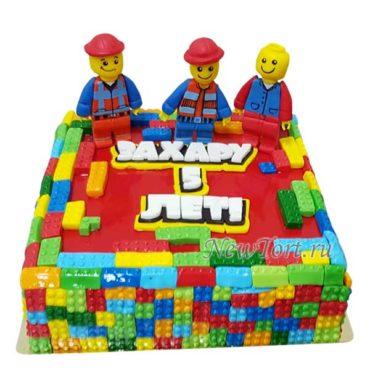 Торт Лего конструктор