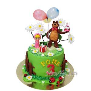 Торт день рождения Маши