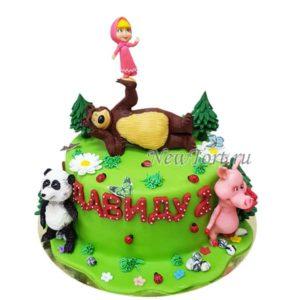 Торт Маша и друзья