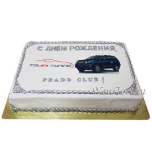 Корпоративный торт Prado club