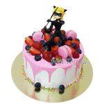 Торт  Супер Кот в ягодах