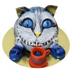 Торт с котом из мультика Алиса
