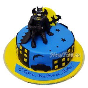 Торт бэтмен и летучие мыши