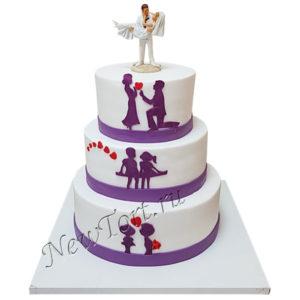 Свадебный торт Первая любовь СТ224