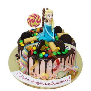 Торт Эльза и сладости