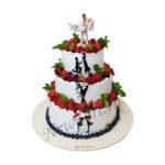 Свадебный торт - вместе навсегда СТ223