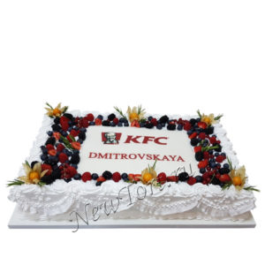 Корпоративный торт KFC