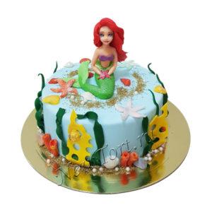 Торт подводный мир Ариэль