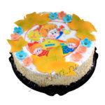 Торт на 1 сентября без мастики