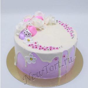 Торт на 14 февраля без мастики