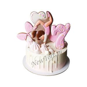 Торт  для гимнастки с пряниками