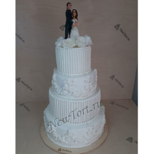 Большой свадебный торт СТ269