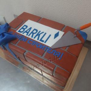 Торт - С днем строителя
