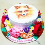 Торт - лисичка