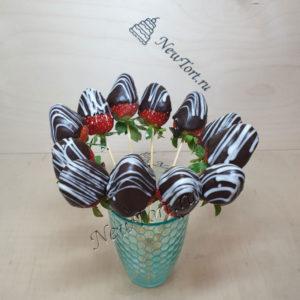 Клубника в шоколаде - 12 штук