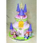 Торт замок фей