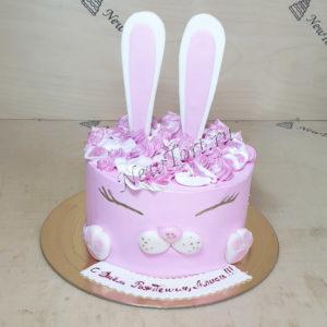 Торт зайченок без мастики