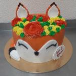 Торт с лисенком