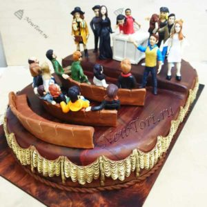 Корпоративный торт концертный зал
