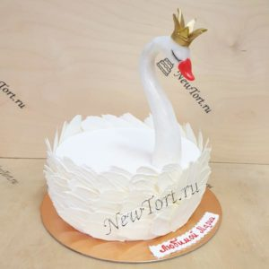 Торт белый лебедь ТЖ110