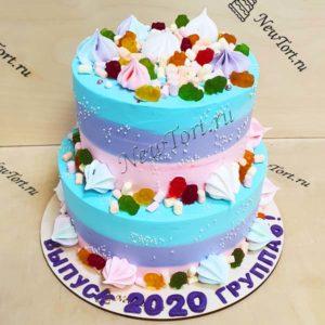 Торт на выпускной в садик ТВ15