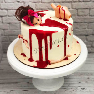 Торт на день хэллоуина