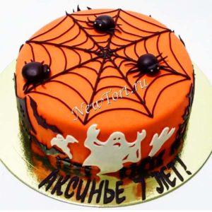 Торт на хэллоуин для детей